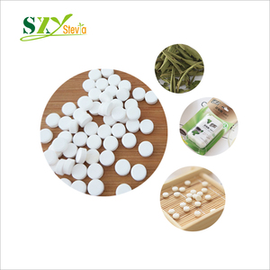 Natural Sweetener Stevia Tablets in Dispenser