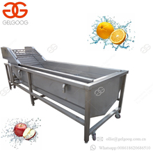 Factory Sale Industrial Fresh Fruit Mango Date Washing Machine Pepper Celery Spinach Bubble Leafy Vegetable Washer