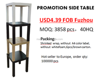 PROMOTION hot sale wooden side table/coffee table for living room sets