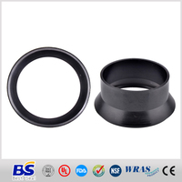 Hot low price epdm rubber gasket pump body black