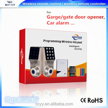 Intelligent Security Wireless Doorbell with Programming Wireless Keypad