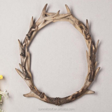 Resin artificial deer antlers wall hanging artificial antlers