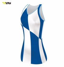 sublimation women sexy netball dress