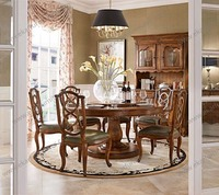 Classic furniture dinning sets vintage dining tables kitchen dining furniture