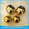 100 200 300 400 500mm polished brass ball hollow spheres