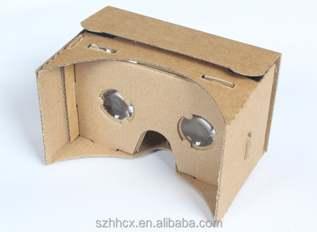 Google Cardboard 3d Vr Virtual Reality DIY 3D Glasses, cheap cardboard 3d