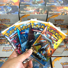 95% close to orignal 360 cards sun and moon pokemon box in 36 pokemon boosters 10cards pack pokemon