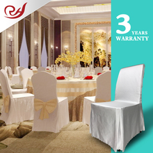 Factory cheap price party decorations square top back banquet chair covers