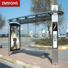 Factory supply bus shelter / car carports manufacturer