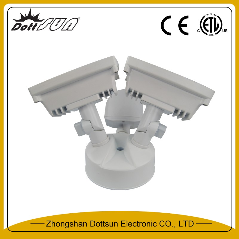 ETL (US/Canada) listed 1200Lm (Nominal) 4000 Kelvin 80 CRI best outdoor sensor lights