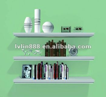 Decortive floating wall shelves/wall mounted cube shelf