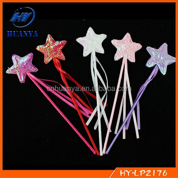 Star Angels Princess Rod Stick Magic Wand Halloween Masquerade Cosplay Costumes Party Accessories