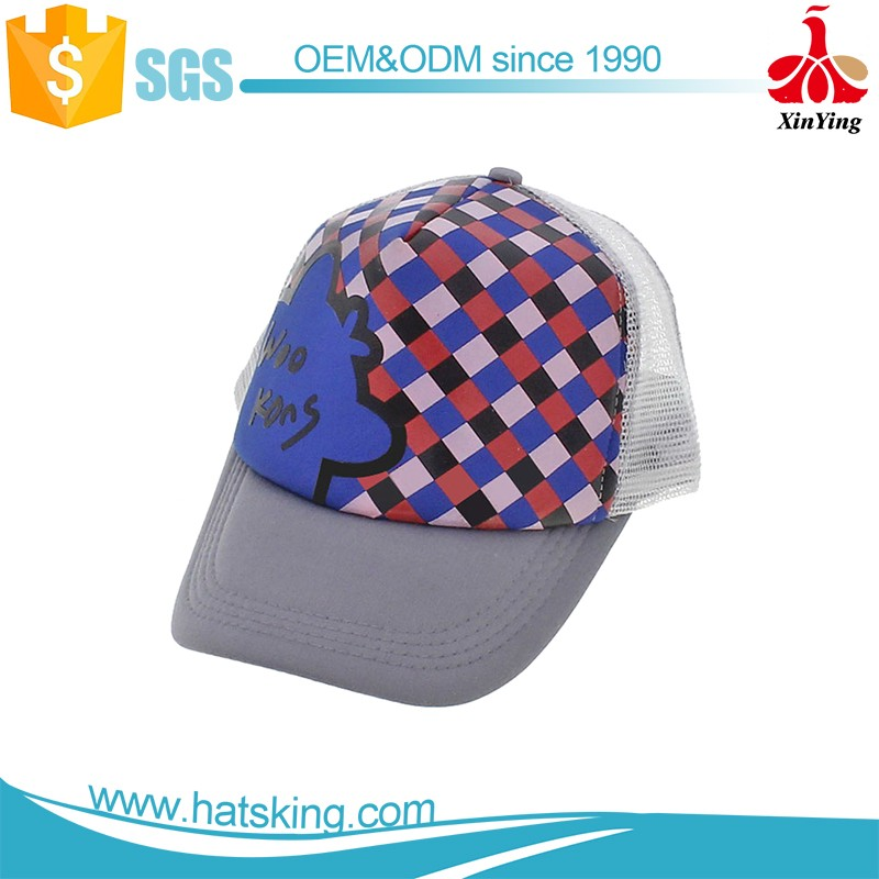 wholesale custom soft cotton mesh trucker caps