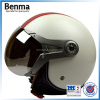hot accessories high quality leather motorcycle helmet