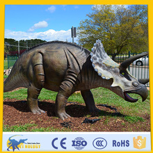 CET-N-137 Cetnology Movie Character Resin Jurassic Museum Triceratops Sculpture Animatronic Dinosaur animal statue