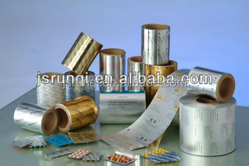 alu blister foil op/al/hsl coating for medicine