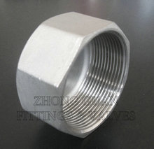 2 inch Stainless steel class 150 hexagon cap