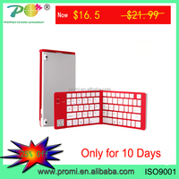 Wholesale High Quality Bluetooth Folding Keyboard for i Pad, Samsung PC, Android PC