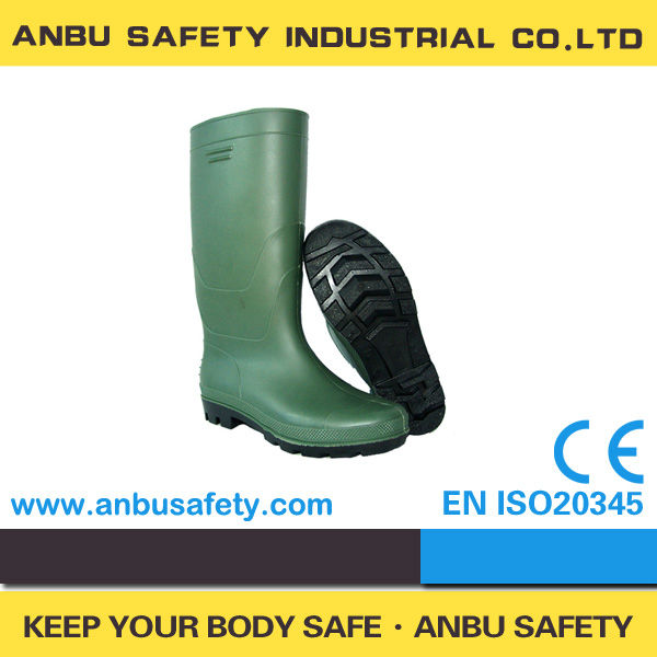 Fashional Durable Men's Style UK Wellington PVC Rainboots