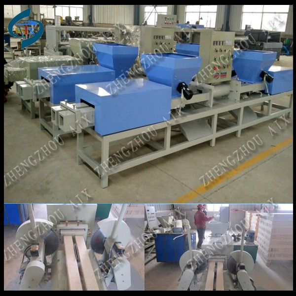 China wood sawdust block making machine/wood sawdust block press machine in Alibaba