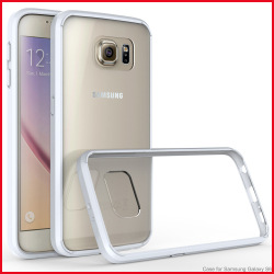 2016 newest multiple color soft frame acrylics s7 edge case,clear case for Samsung galaxy s7