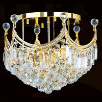 Hanging Ceiling Light Crystal Low Ceiling Chandelier 51102