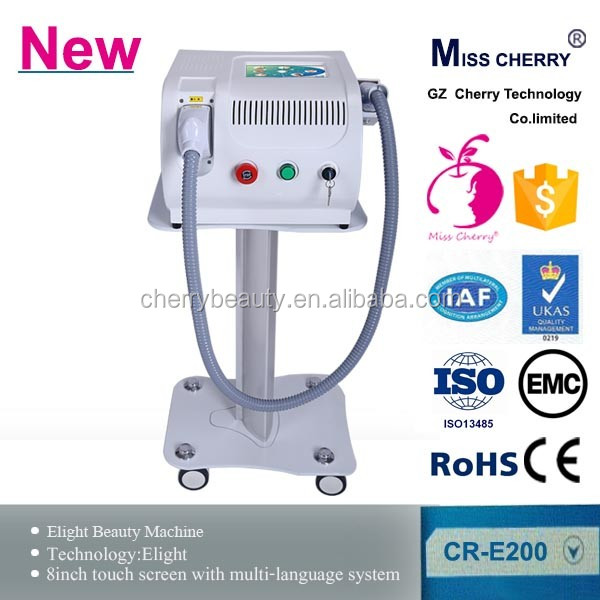 Newest OPL beauty salon CE approved elight shr hair removal machine