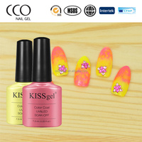 CCO beauty choices colored uv gel polish 7.3ml nail art soak off uv polish gel CCO nail polish factory