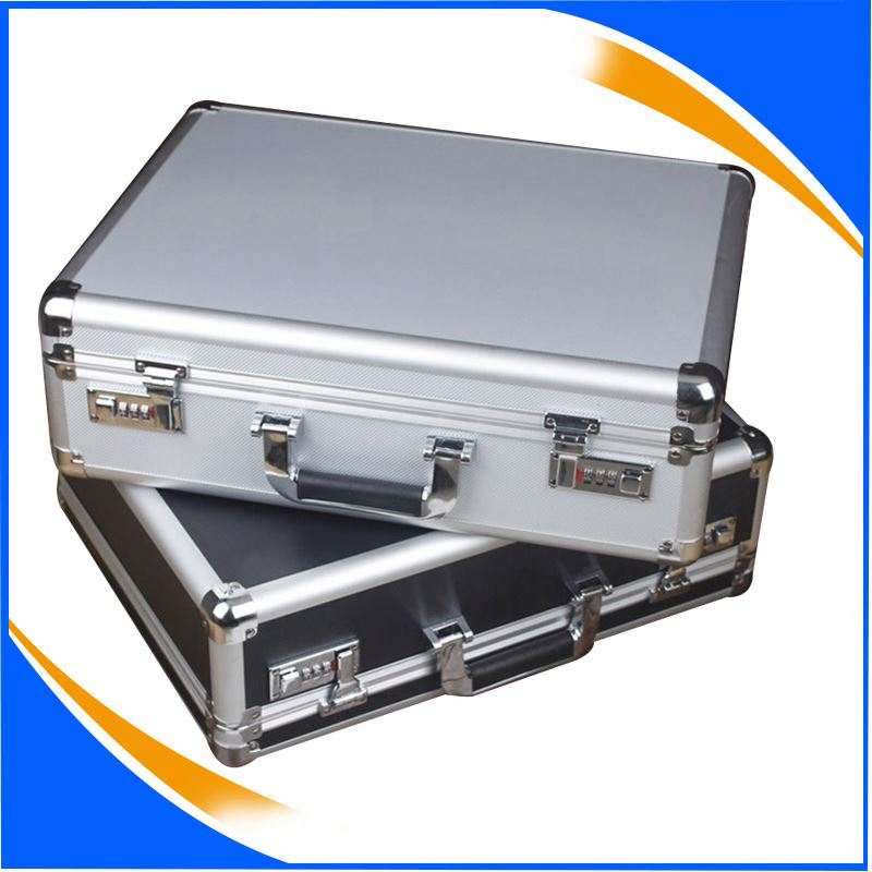 Brand New Aluminium Storage Briefcase Carrying Hand Tools Lock Case