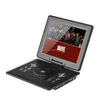 12.1 Inch Portable DVD Player: Game Controller, Remote, Car Charger, Swivel Screen, Antenna