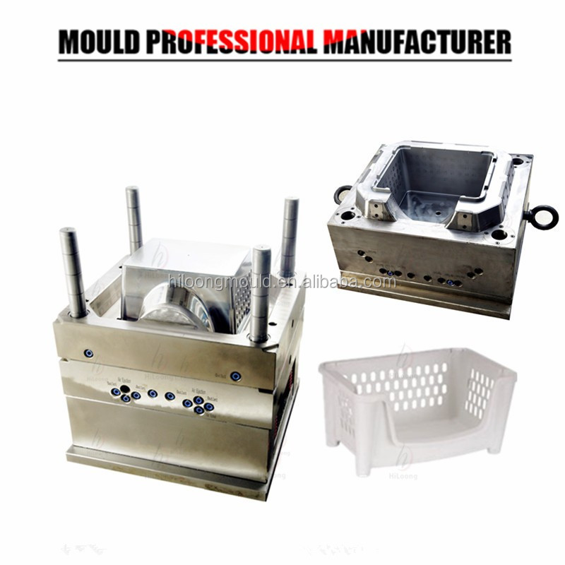 New Products Plastic Injection Mould Plastic Basket Rack Mould