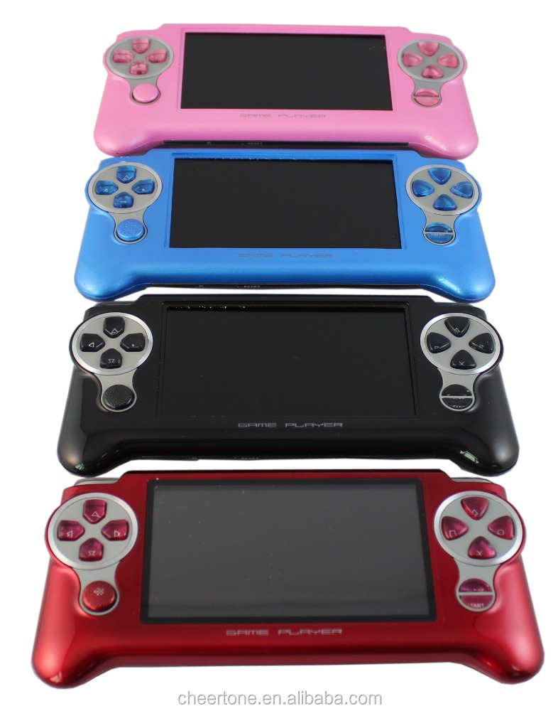 handheld game console touch screen handheld video game player