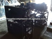 screw spare parts with high quality Hengda compressor 140CFM 580PSI 60HP 2014 CHINAPLAS