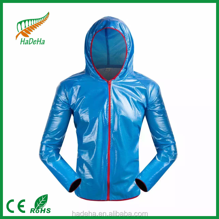 women pvc raincoat with hood /pvc /polyster material/raincoat poncho