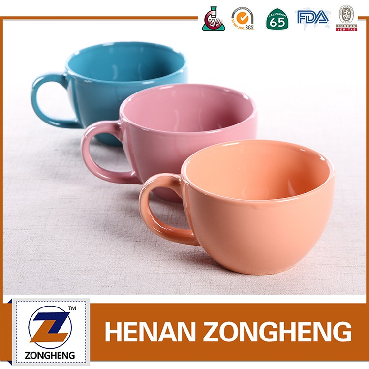 5oz 150ml pink mini kids ceramic coffee mug