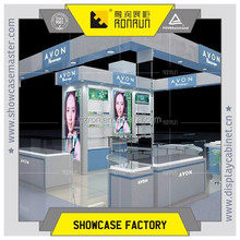 Professional makeup display stands ,famous brand cosmetic display ,design furniture cosmetic shop