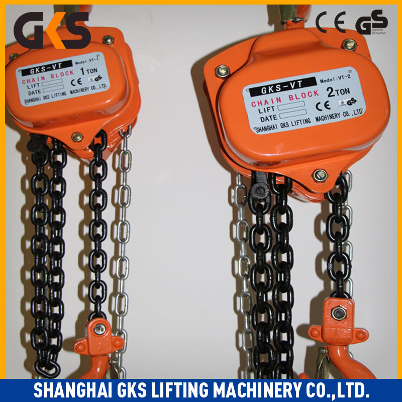 3T 3000KG VITAL TYPES OF Manual Chain Block Hoist