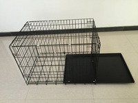 Dogs Application and Carriers Cage, Carrier & House Type outdoor pet carrier with removable tray