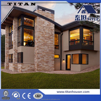 Australia Standard Modular Luxury Prefabricated Steel Frame Houses/Villa/Homes