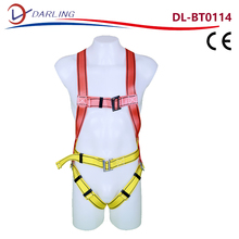 safety belt full body harness High Quality EN361 Fall Safety Belt With Shock Absorber Lanyard