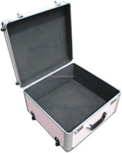 Aluminum stylish design and impactful professional custom lady laptop trolley case with competitive price