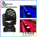 Hot sale 7pcs*12w RGBW 4-in-1 LED Zoom moving head wash light stage moving head light