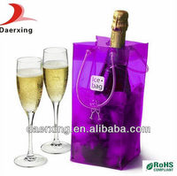 China manufacturer Ice bags for wine,good strength PVC bag