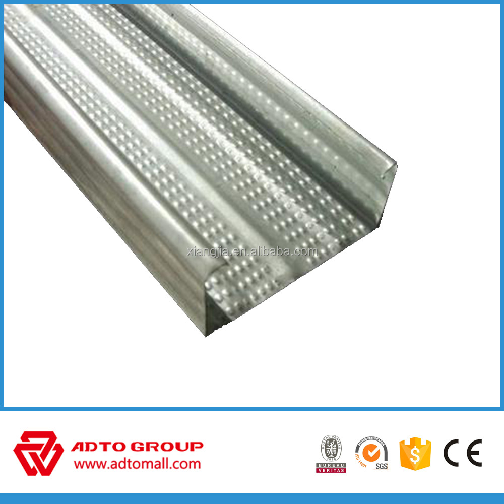 Q195/Q235 Galvanized steel c channel ,c channel steel dimensions