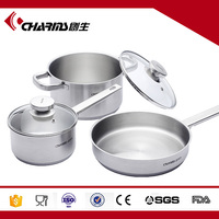Induction Cookware Saucepan Frying Pan Stock Pot Stainless Steel Cookware Set