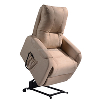 Comfortable and modern fabric power lift recliner Chair