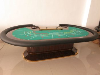 Baccarat Poker Table