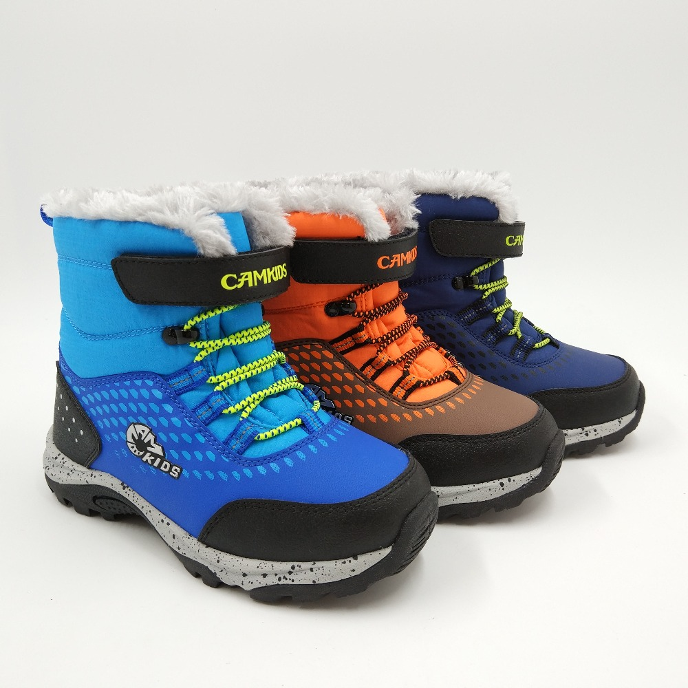 Child Active Snow Boots Kids Winter Boots