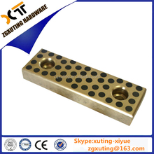 Flat oilless guide bars,sliding pads ,oilless bearing pad