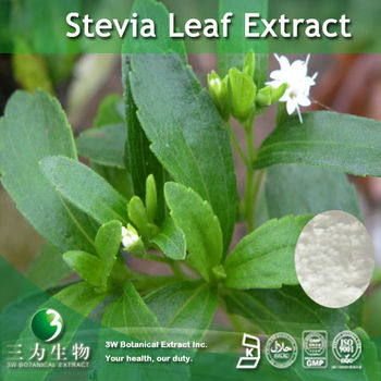 98% Stevia Leaf Extract RA in wide application